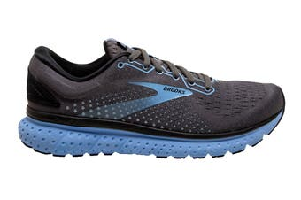 Brooks Women's Glycerin 18 Running Shoe (Black/Ebony/Cornflower, Size 9.5 US)