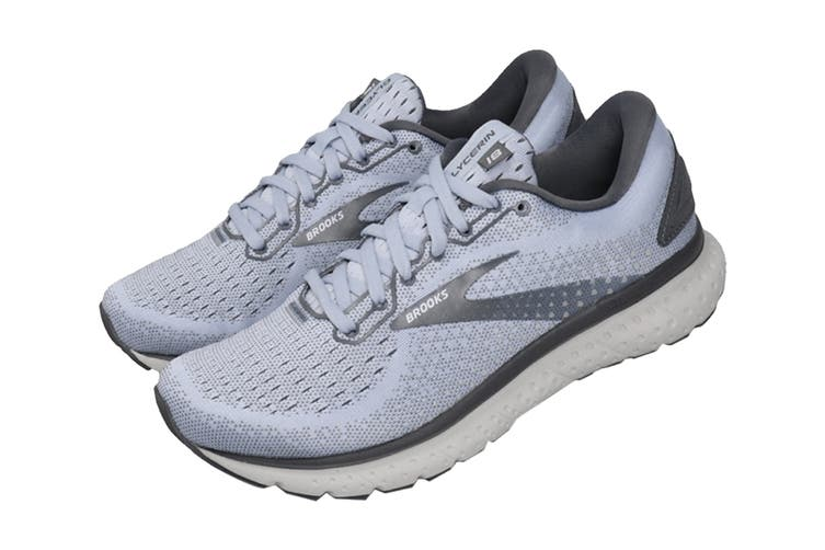 Brooks Women's Glycerin 18 Running Shoe (Kentucky/Turbulence/Grey, Size 6.5 US)