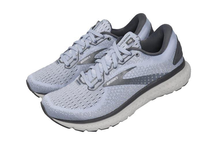 Brooks Women's Glycerin 18 Running Shoe (Kentucky/Turbulence/Grey, Size 6 US)