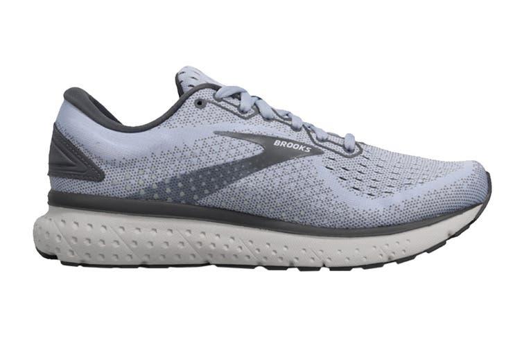 Brooks Women's Glycerin 18 Running Shoe (Kentucky/Turbulence/Grey, Size 9.5 US)