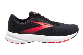 Brooks Women's Launch 7 Running Shoe (Black/Pink)