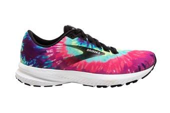 Brooks Women's Launch 7 Running Shoe (Tie Dye, Size 7 US)