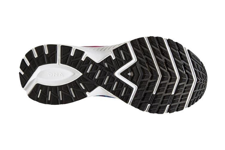 Brooks Women's Launch 7 Running Shoe (Tie Dye, Size 8.5 US)