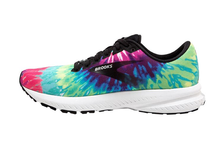 Brooks Women's Launch 7 Running Shoe (Tie Dye, Size 9 US)