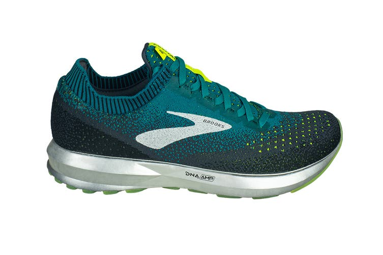 Brooks Men's Levitate 2 (Black/Teal/Navy, Size 9)