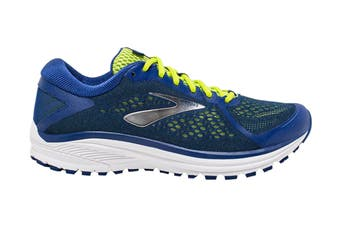 Brooks Men's Aduro 6 Running Shoe (Sodalite/Lime/White, Size 11.5 US)