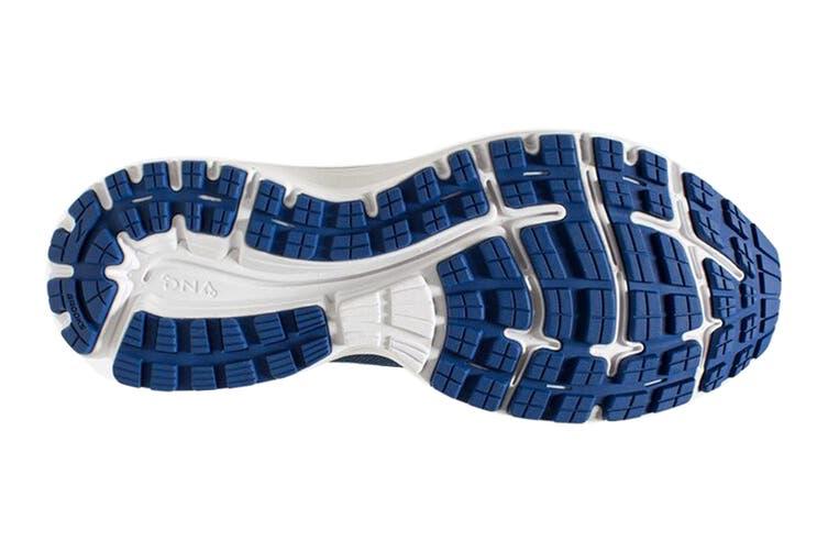 Brooks Men's Aduro 6 Running Shoe (Sodalite/Lime/White, Size 13 US)