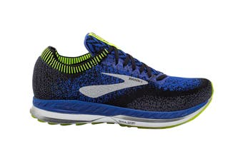 Brooks Men's Bedlam Running Shoe (Black/Blue/Nightlife, Size 10.5 US)