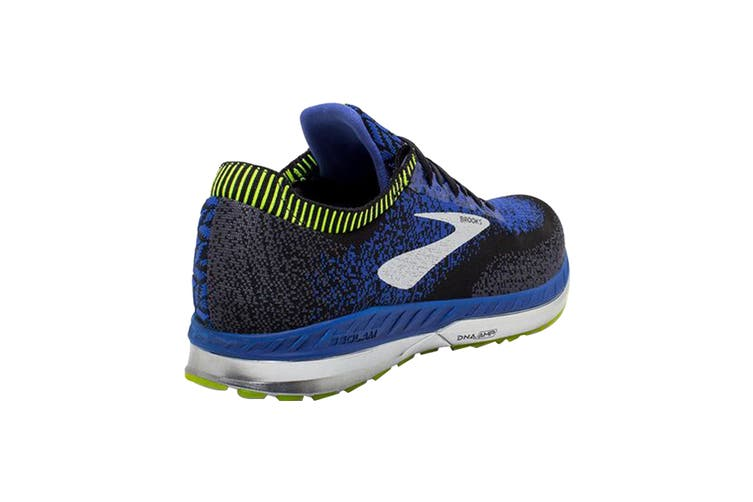 Brooks Men's Bedlam Running Shoe (Black/Blue/Nightlife, Size 8.5 US)