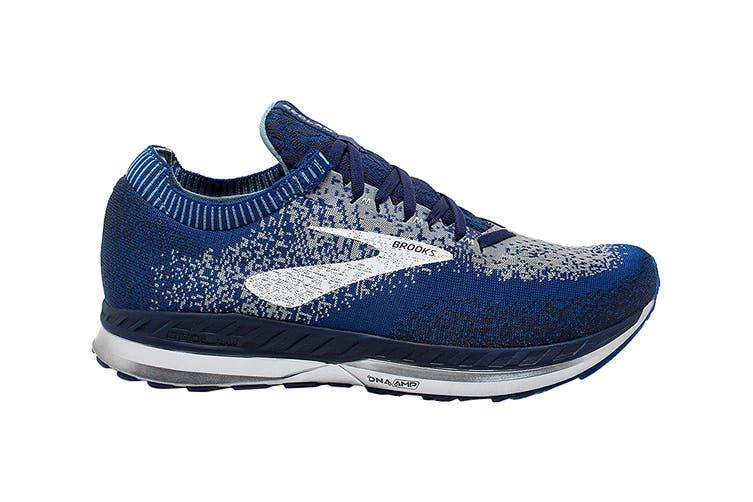 Brooks Men's Bedlam Running Shoe (Blue/Navy/Grey, Size 12 US)