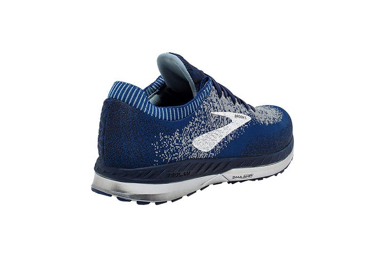 Brooks Men's Bedlam Running Shoe (Blue/Navy/Grey, Size 8 US)