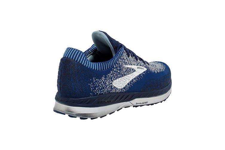 Brooks Men's Bedlam Running Shoe (Blue/Navy/Grey, Size 9.5 US)