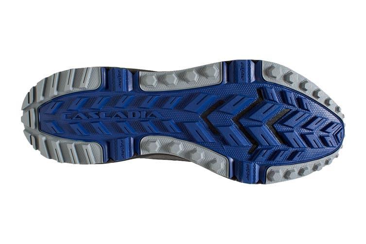 Brooks Men's Cascadia 13 Running Shoe (Black/Nightlife/Blue, Size 10.5 US)
