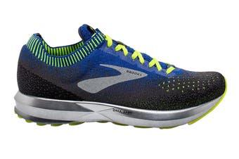 Brooks Men's Levitate 2 Running Shoe (Black/Blue/Nightlife, Size 9.5 US)