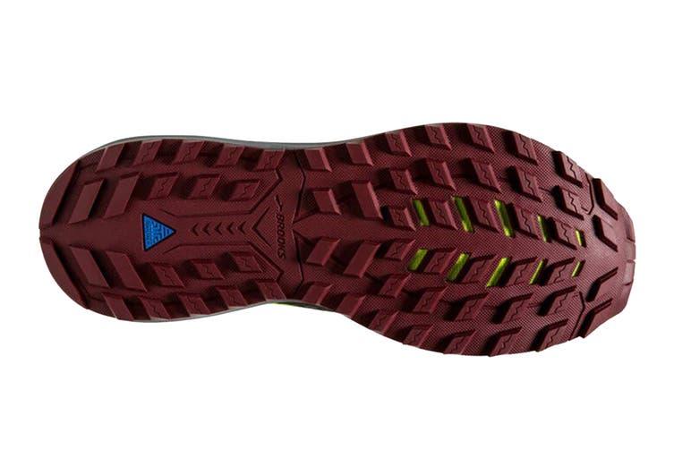 Brooks Men's Cascadia 14 Running Shoe (Black/Red/Nightlife, Size 8 US)