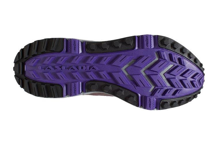 Brooks Women's Cascadia 13 Running Shoe (Aster/Fig/Purple, Size 7 US)