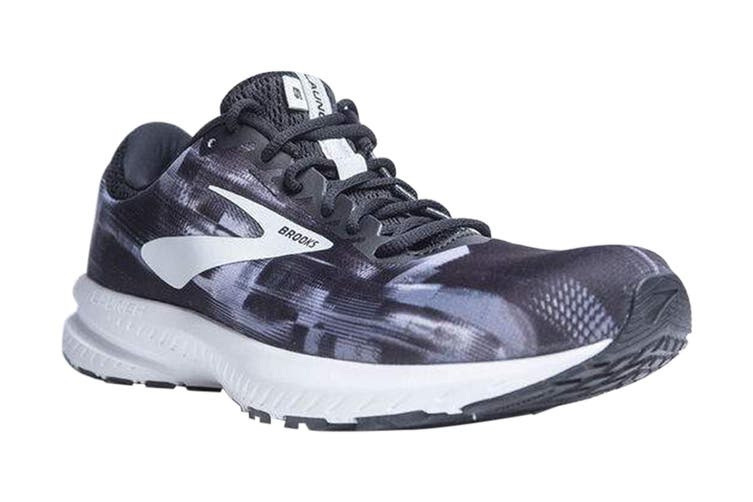 Brooks Women's Launch 6 Running Shoe (Black/Primer/Oyster, Size 8 US)