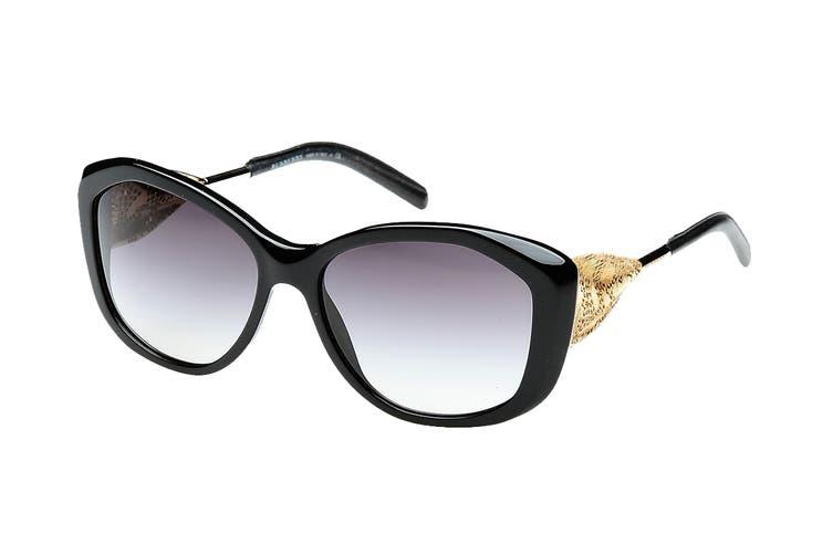 Burberry 0BE4208Q Sunglasses(Black) - Gray Gradient