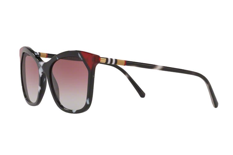 Burberry 0BE4263 Sunglasses (Black) - Gray Gradient Violet