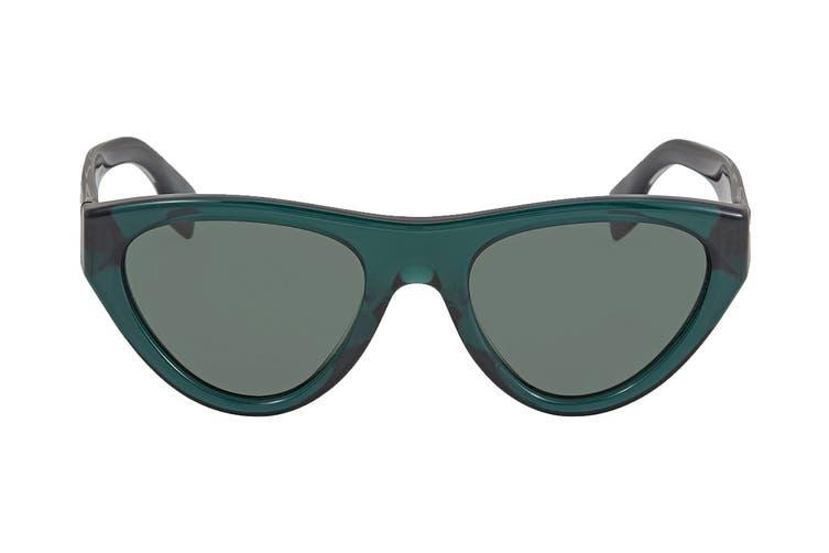 Burberry 0BE4285 Sunglasses (Transparent Green) - Green