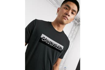 Calvin Klein Men's Monogram Crew (Mosstone)