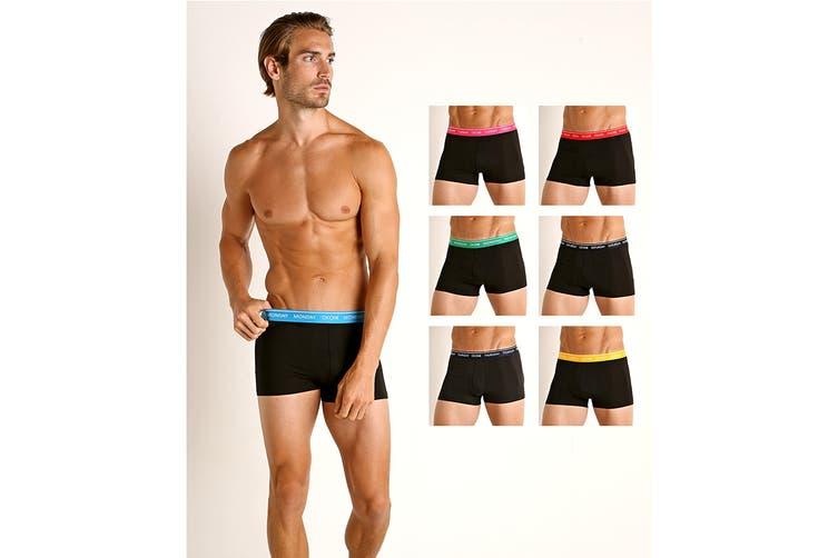 Calvin Klein Men's Days of The Week Trunk Underwear (Multi, Size S) - 7 Pack