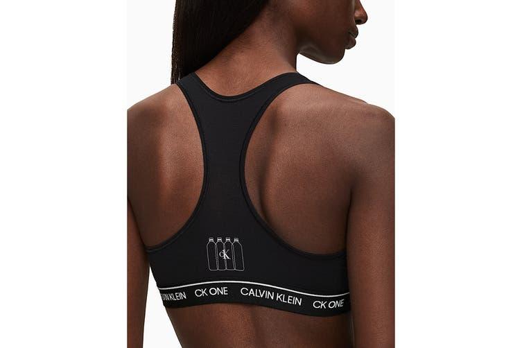 Calvin Klein Women's Recycle Program Bralette (Black, Size XS)