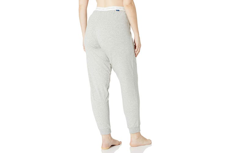Calvin Klein Women's Loungewear Plus Size Jogger (Grey Heather, Size 2XL)