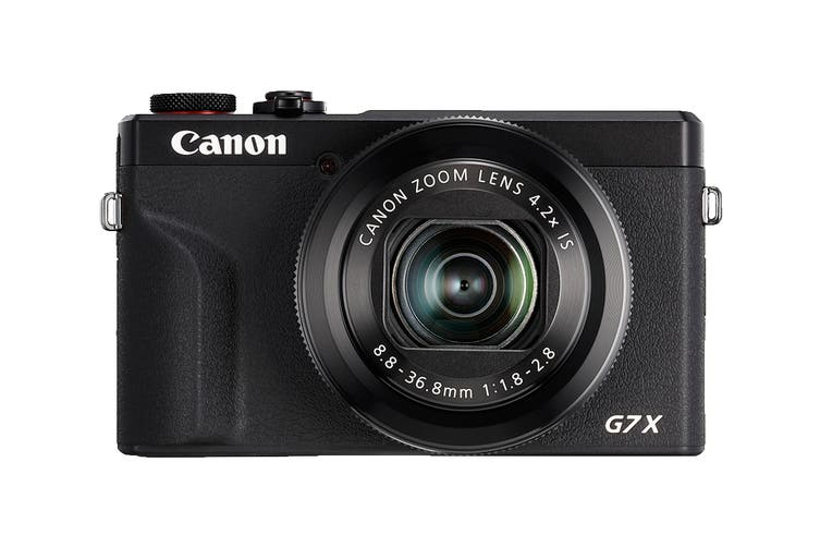 Canon PowerShot G7X Mark III with 4K Video Recording