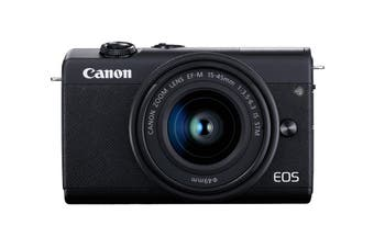 Canon EOS M200 Mirrorless Camera Single Kit with EFM15-45 Lens