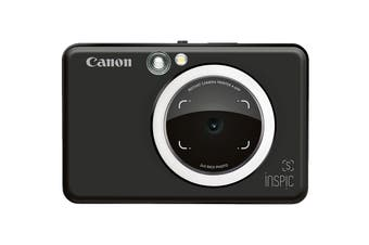 Canon INSPIC S Instant Camera with Smartphone Connectivity - Matte Black
