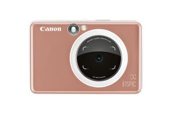Canon INSPIC S Instant Camera with Smartphone Connectivity - Rose Gold