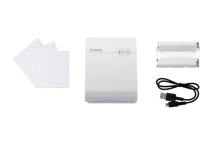 Canon Selphy Square Printer - White (QX10)