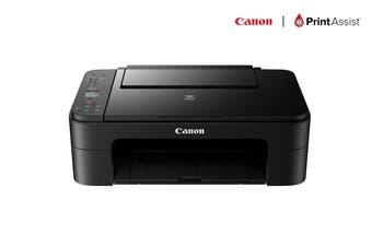 Canon PIXMA Home All-In-One Wireless Printer - Black (TS3160)