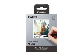 Canon Print Paper for Selphy Square - 20 Sheets (XS-20L)