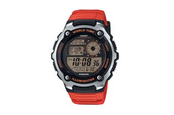 Casio Sports Digital Watch - Red (AE2100W-4A)