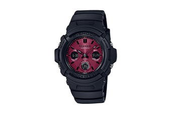 Casio G-Shock Duo Solar Ana-Digital Watch - Black/Red (AWRM100SAR-1A)