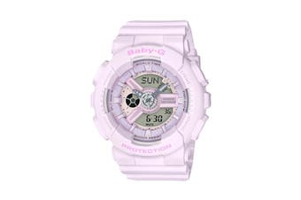 Casio Baby-G Analog Digital Female Watch with Resin Band - Pink (BA110-4A2)
