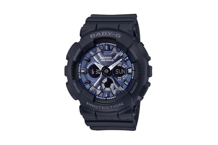 Casio BABY-G Ana-Digital Female Watch - Black/Blue (BA130-1A2)