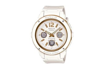 Casio Baby-G Ana-Digital Watch - White/Gold (BGA151-7B)