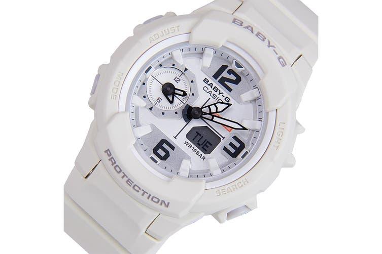Casio Baby-G Analog Digital Female Watch with Resin Band - White (BGA230-7B2)