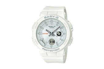 Casio Baby-G Analog Digital Watch with Resin Band - White (BGA255-7A)