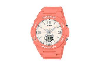 Casio BABY-G Vintage Ana-Digital Female Watch - Orange (BGA260-4A)