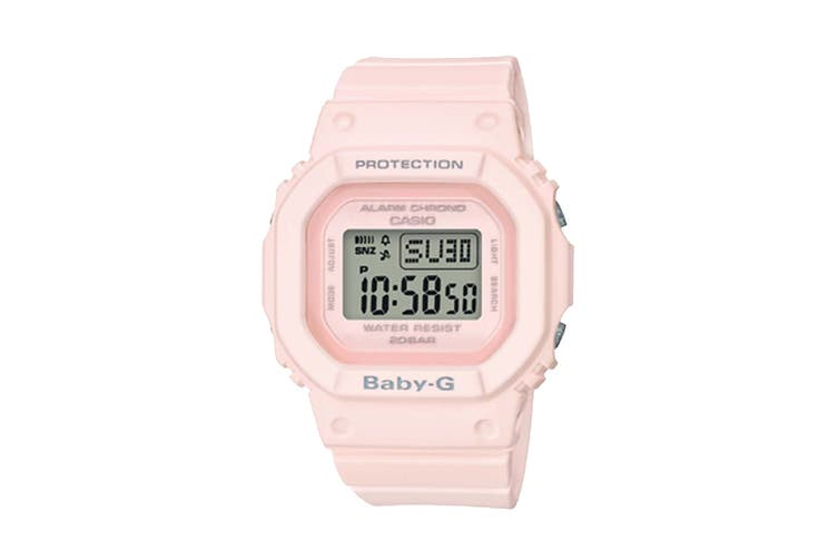 Casio Baby-G Digital Female Watch with Resin Band - Pink (BGD560-4D)