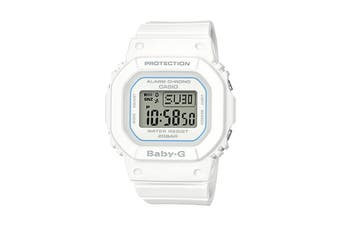 Casio Baby-G Digital Female Watch with Resin Band - White (BGD560-7D)