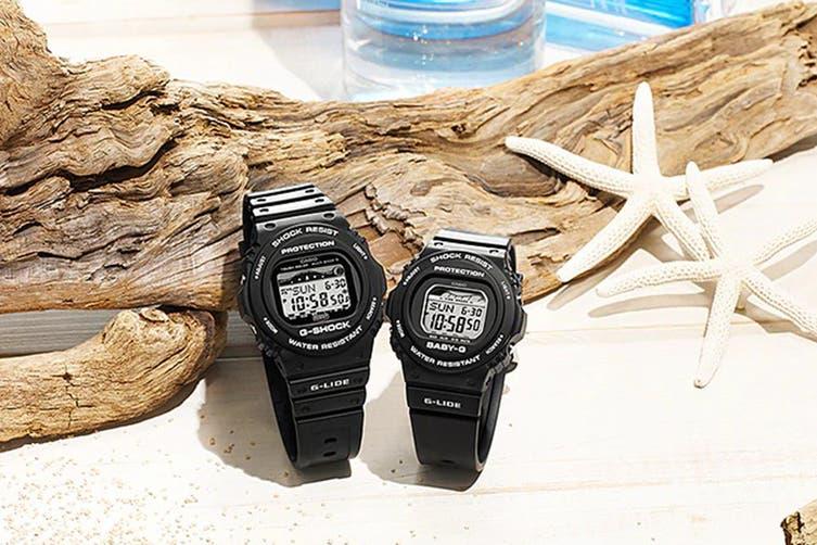 Casio BABY-G Digital Female Watch - White (BLX570-1D)