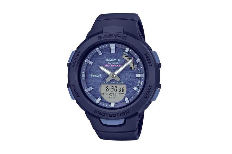 Casio Baby-G Duo Step Tracker Ana-Digital Watch - Blue (BSAB100AC-2A)