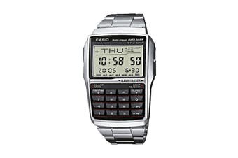 Casio Data Bank 25 Stainless Steel Digital Watch - Silver (DBC32D-1)