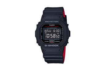 Casio G-Shock Digital Heritage Watch - Black/Red (DW5600HR-1A)