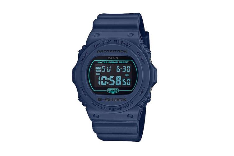 Casio G-Shock  Digital Watch - Navy (DW5700BBM-2D)